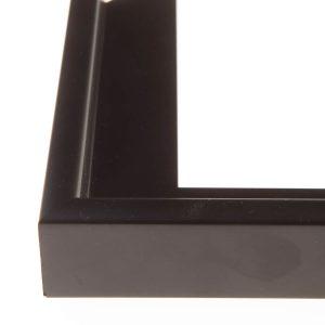FLOATS Zwart baklijst 40mm